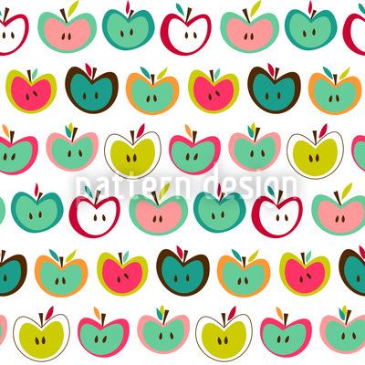 Apfelfrische Muster Design