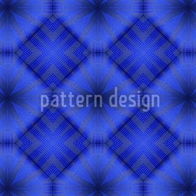 Ultramarine Seamless Pattern