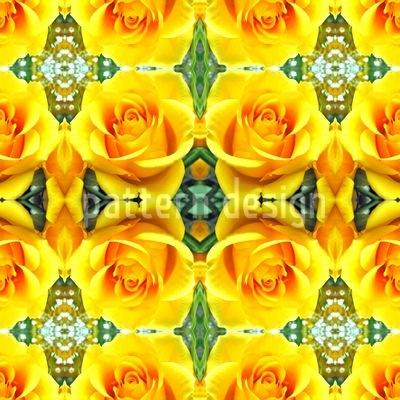 Rosenkönigin Musterdesign