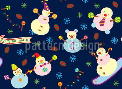 Sweet Snowmen Design Pattern