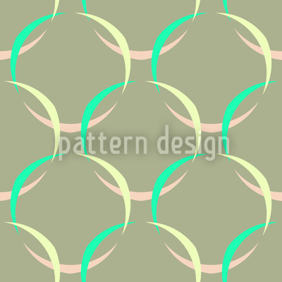 Frühlingszeit Netz Nahtloses Muster