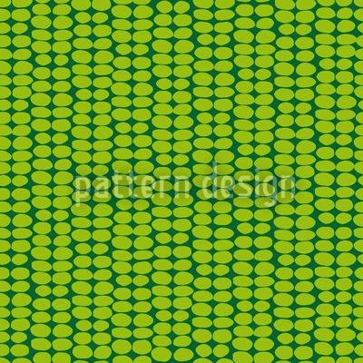 Blattgrün Retro Vektor Design