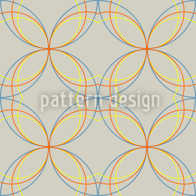 Crossed and Curved Design Pattern
