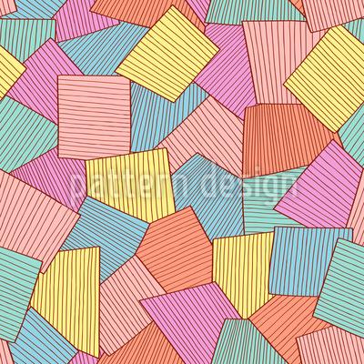 Abstrakte Fliesen Vektor Design