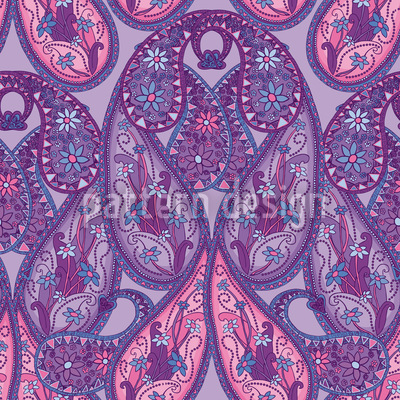 Paisley Exquisite Seamless Pattern