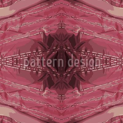 Roter Rubin Nahtloses Vektor Muster