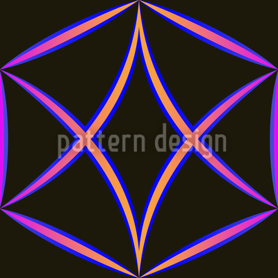 Crazy Diamond Pattern Design