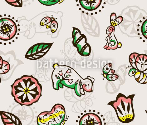 Wunderwald Nahtloses Muster