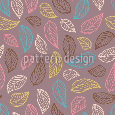 Silhouetto Seamless Vector Pattern
