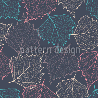 Autumn Thoughts Repeat Pattern
