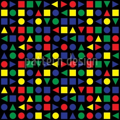 Geometrical Shapes Pattern Design
