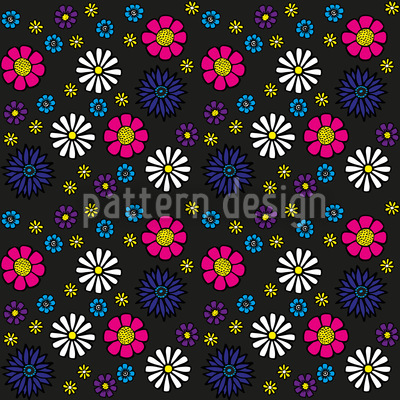 Sweet Daisy Vector Ornament