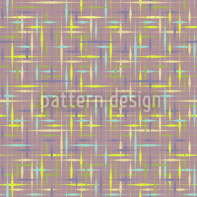 Textus Brown Seamless Vector Pattern