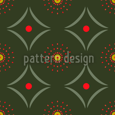 Dotty Meets Check Seamless Pattern