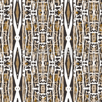 Diamond Ikat Repeat Pattern
