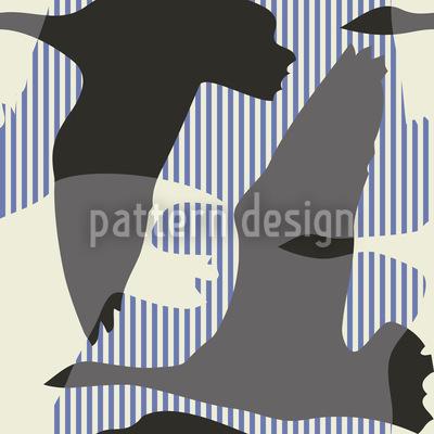 Flying Goose Maritime Pattern Design