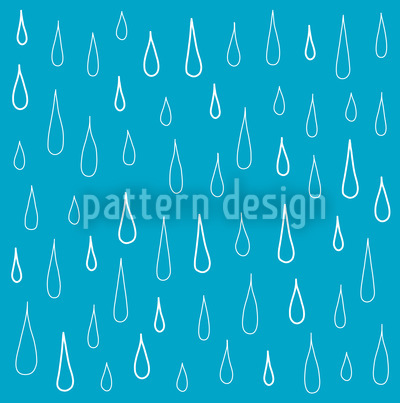 Blue Drops Pattern Design