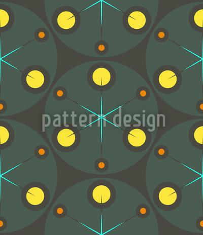 Grüne Punkte Designmuster