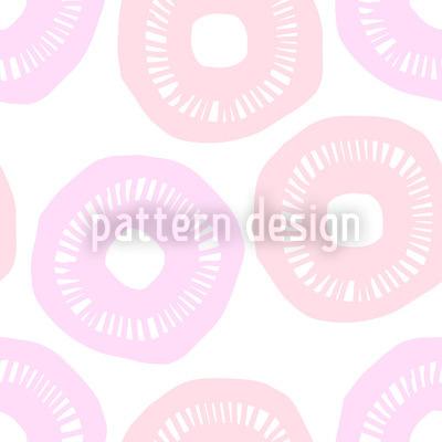 Sunshine Pink and Lavender Design Pattern