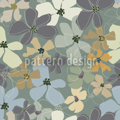 Yellow Purple Potpourri Vector Design
