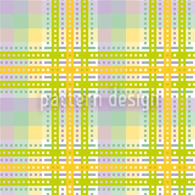 Yellow Tartan Pattern Design