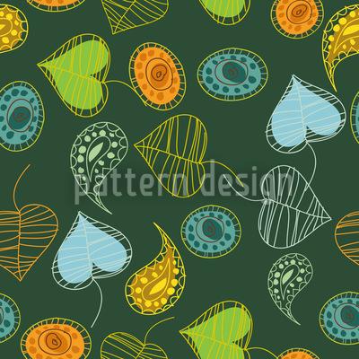 Tutti Frutti Nahtloses Vektor Muster
