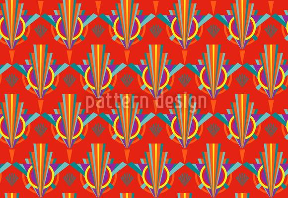 Bright Art Deco Vector Pattern