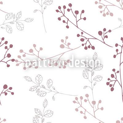 Pflänzchen Pastell Musterdesign
