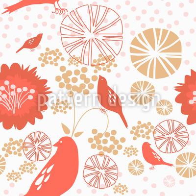 Poppy Paradise Muster Design
