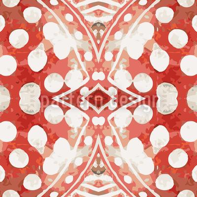 Fröhliches Orient Nahtloses Muster