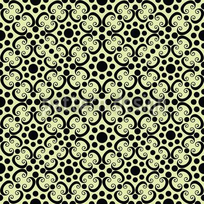 Punktierte Gotik Vektor Muster