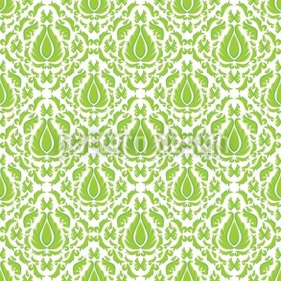 Grünes Feuer Vektor Muster