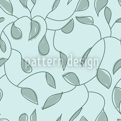 Twigs In Pastel Pattern Design