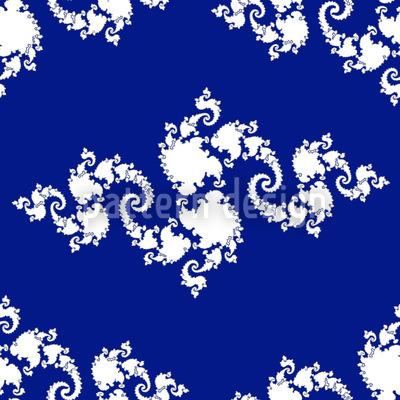 Fractal Curlicue Design Pattern