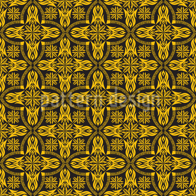 Ethno Crosses Seamless Pattern