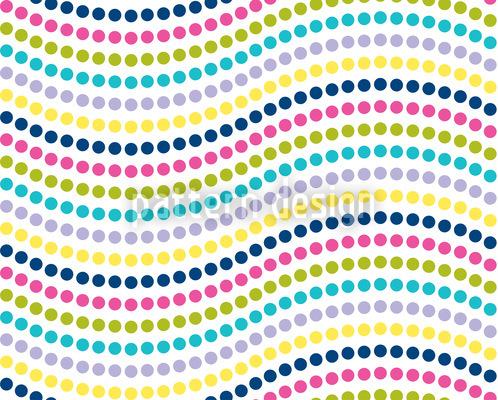 Punktige Wellen Muster Design