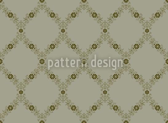 Flower Tendril Pattern Design