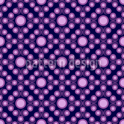 Violette Punkte Vektor Ornament