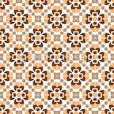 Holzartig Nahtloses Vektor Muster