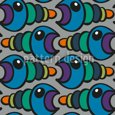 Worm Repeating Pattern