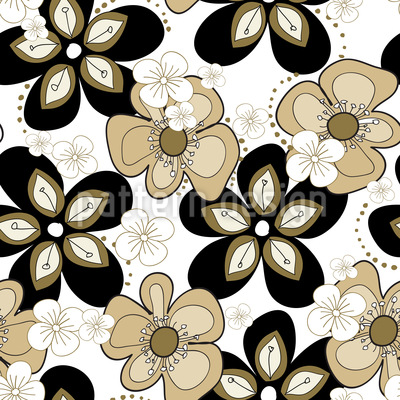 Blossom Party Pattern Design