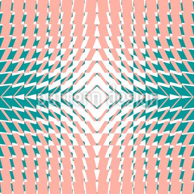Kaleidoskop Vier Musterdesign