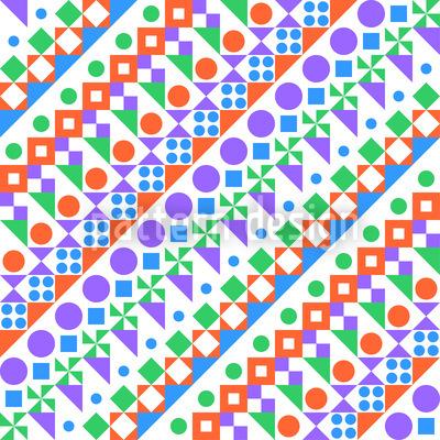 Jungle Shape Repeating Pattern