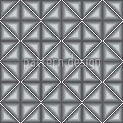 Dimensionale Vierecke Rapportiertes Design