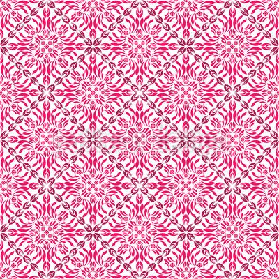 Paradiesisches Pink Muster Design