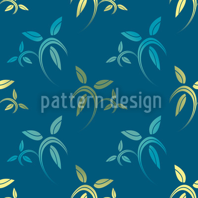 Cool And Gold Vector Pattern