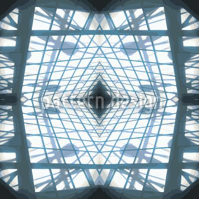 Licht Durchs Fenster Vektor Ornament