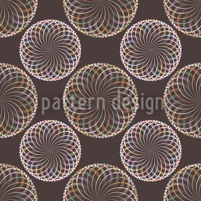 Mystic Balls Nahtloses Vektor Muster