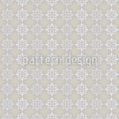 Peaceful Journey Beige Pattern Design