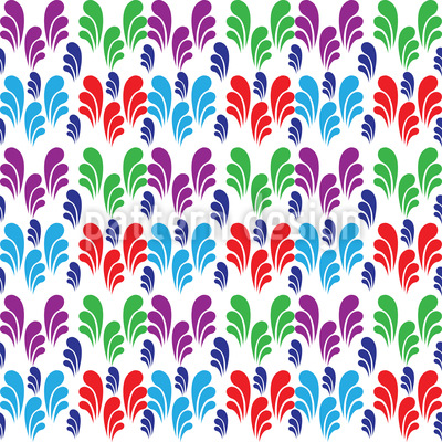 Swirly Meadow Vector Design